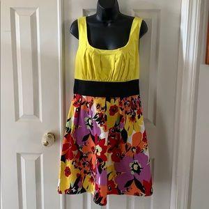 Spense dress, floral print, size 16.